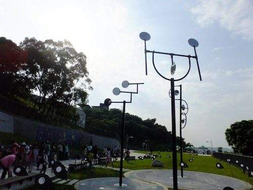 3 sculptures pour le Tainan Astronomical Education Area-Taiwan 2010