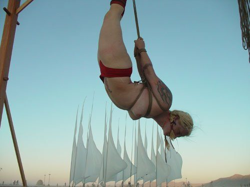 """fear and Hope""-Burningman 2006"