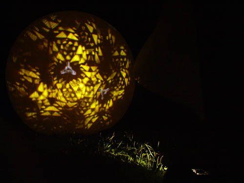 light on a ball, 2004