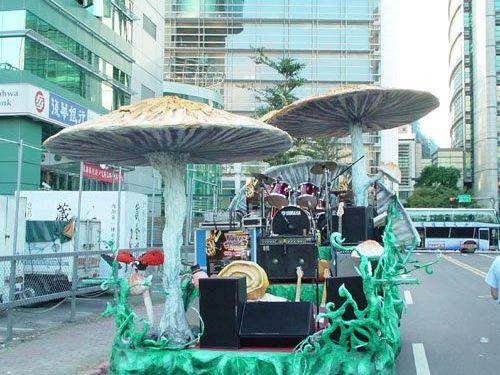 Mushroom float-Taipei Parade 2006