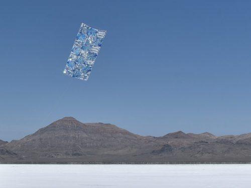 The Blue One, 2015, Bonneville Salt Flats, Utah