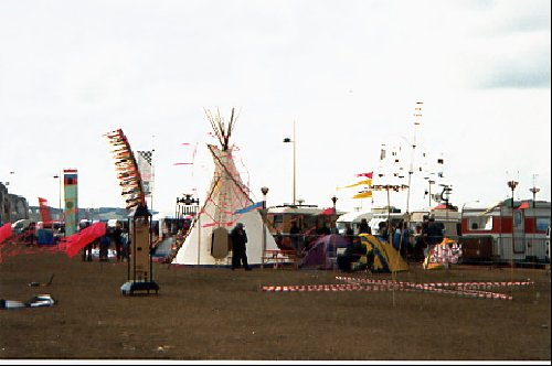 Tepee made with coton-1994