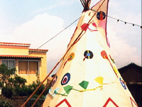 tepee made with ripstop-1995